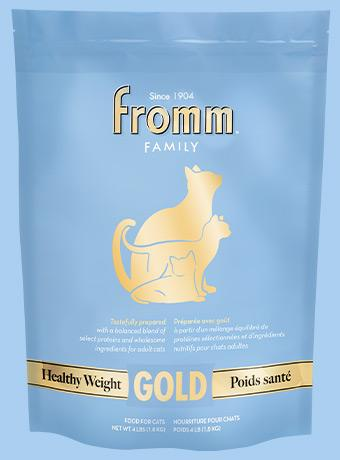 Fromm Gold Healthy Weight Dry Cat Food, Blue, 4-lb
