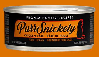 Fromm PurrSnickety Chicken Pate Canned Cat Food, 5.5-oz