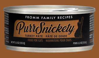 Fromm PurrSnickety Turkey Pate Canned Cat Food, 5.5-oz