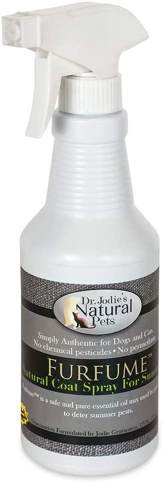 Dr. Jodie's Natural Pets FurFume Natural Coat Spray for Pets, 16-oz