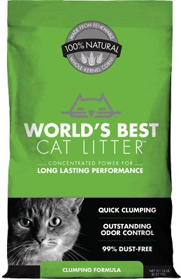 World's Best Cat Litter Original Clumping Formula, 14-lb bag