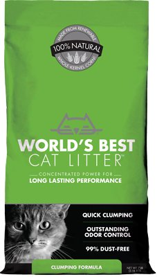 World's Best Cat Litter Original Clumping Formula, 7-lb bag