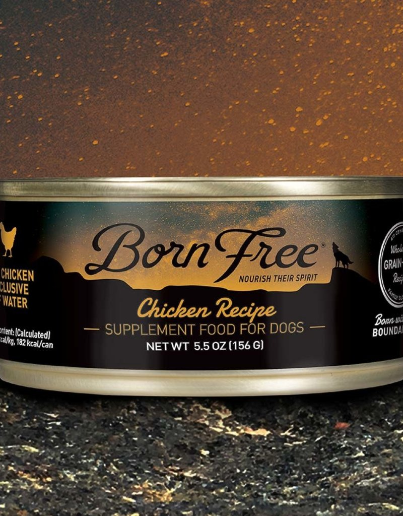 Born Free Chicken Canned Dog Food