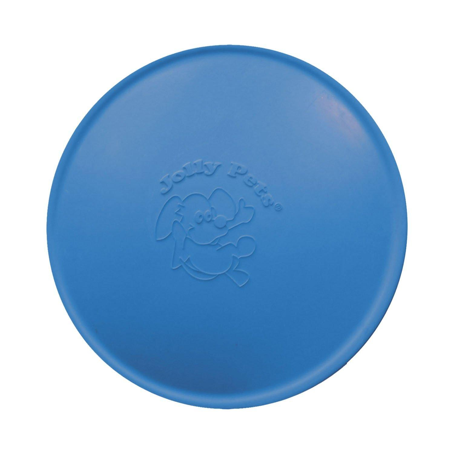 Jolly Pets Jolly Flyer Rubber Frisbee Dog Toy, 9.5-in