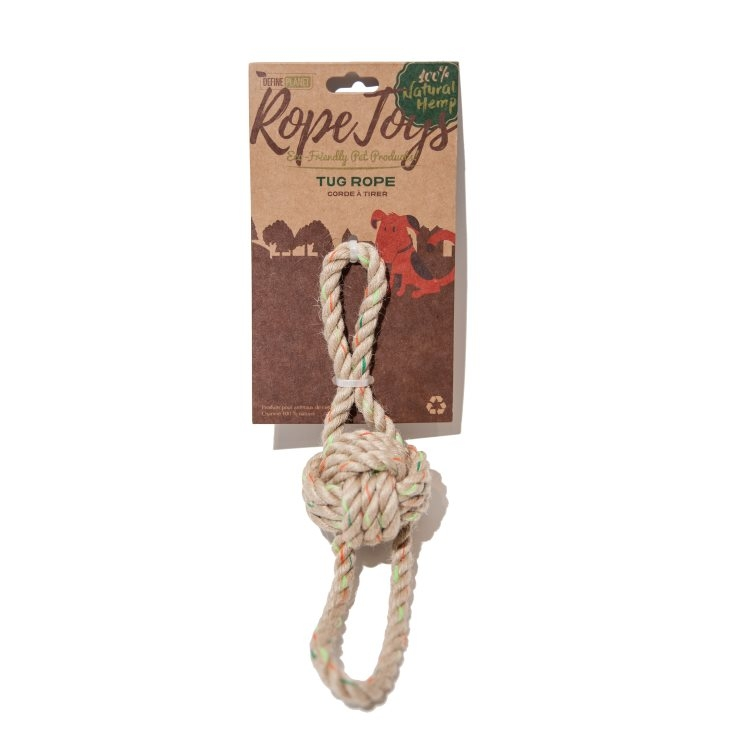 Define Planet H Tug Rope Dog Toy, Small