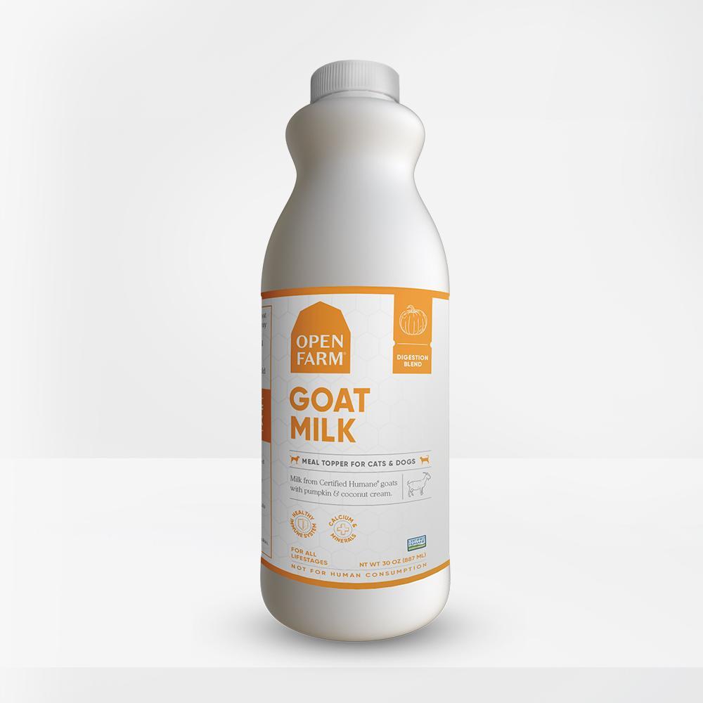 Open Farm Goat Milk Digestion Blend Dog & Cat Food Topper, 30-oz