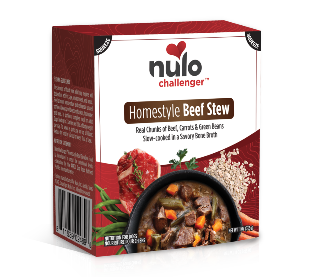 Nulo Challenger Homestyle Beef Stew Tetrapak Wet Dog Food, 11-oz
