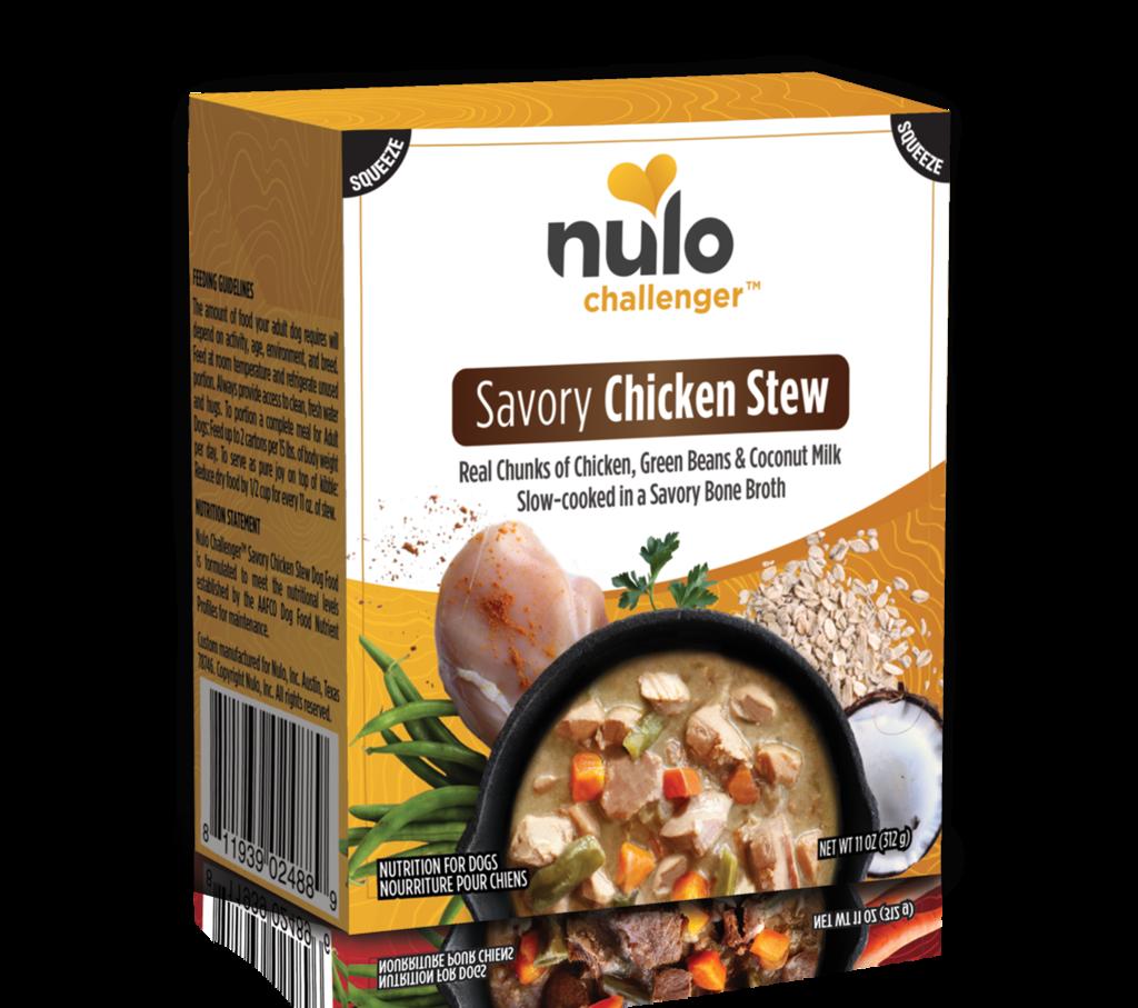 Nulo Challenger Savory Chicken Stew Tetrapak Wet Dog Food, 11-oz