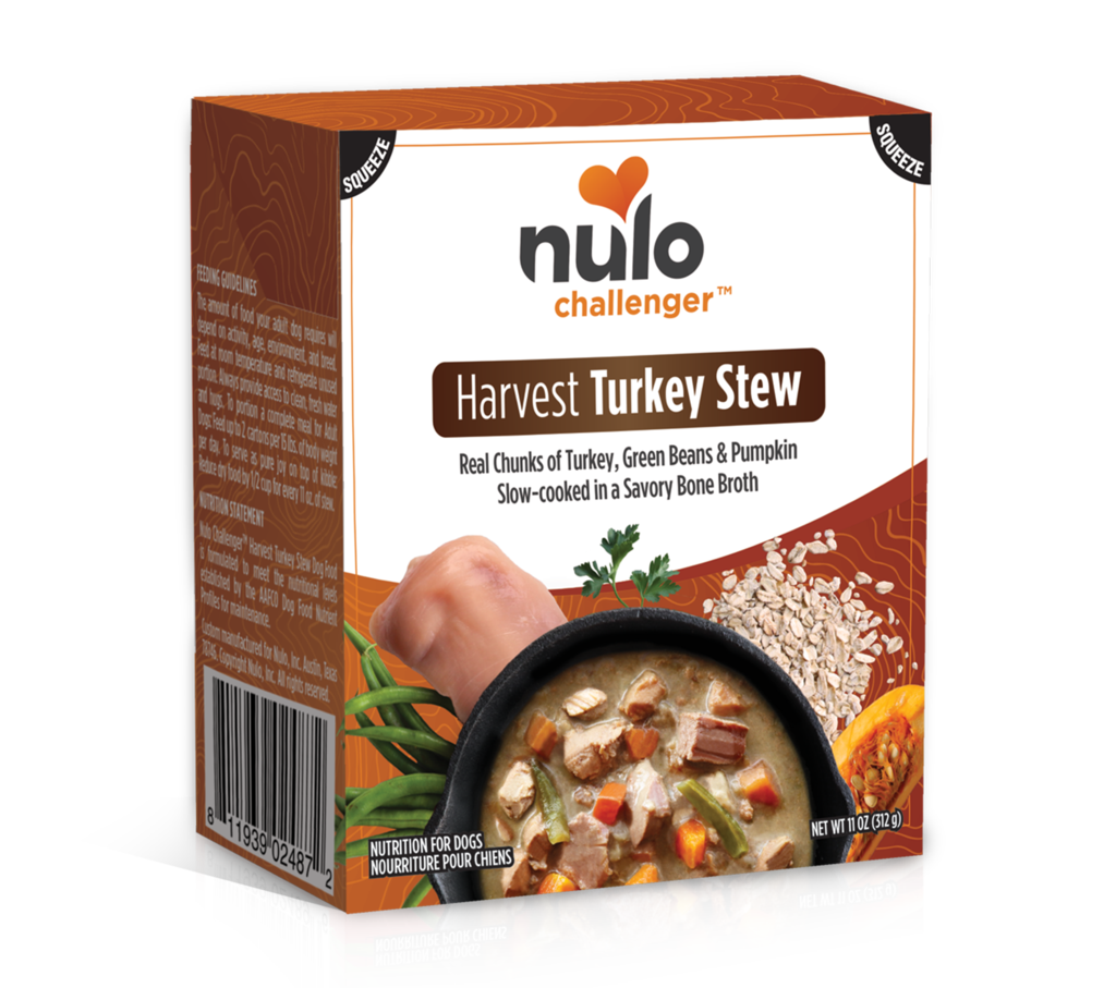 Nulo Challenger Harvest Turkey Stew Tetrapak Wet Dog Food, 11-oz