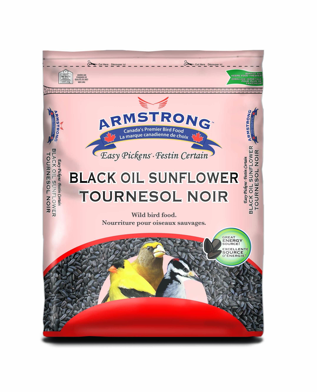 Armstrong Easy Pickens Black Oil Sunflower Wild Bird Food, 3.63-kg