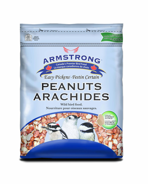 Armstrong Peanut Halves Wild Bird Food, 2-kg