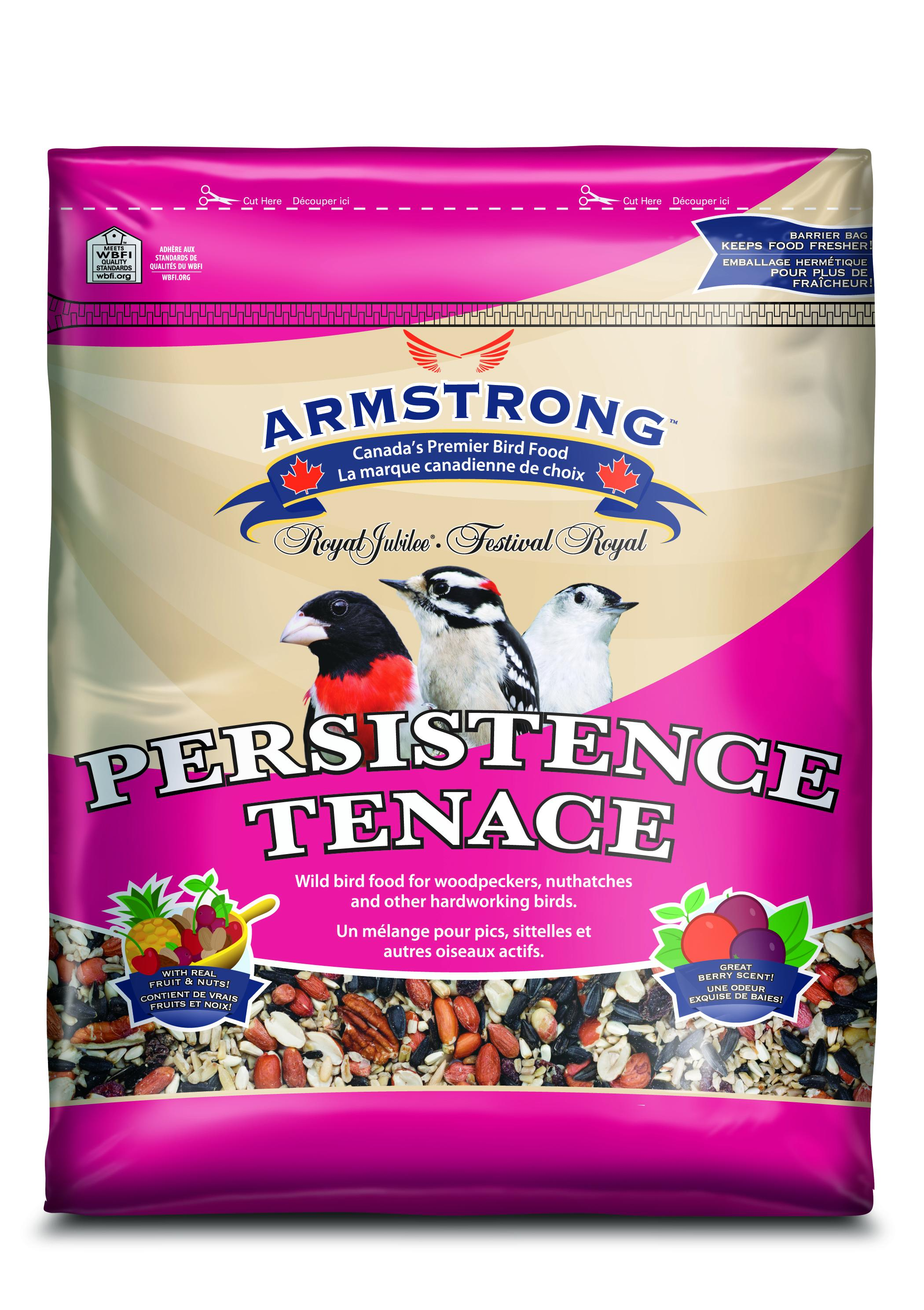 Armstrong Persistence Wild Bird Food, 1.8-kg