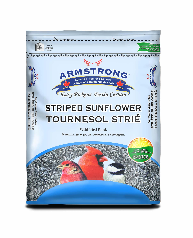 Armstrong Striped Sunflower Wild Bird Food, 3-kg