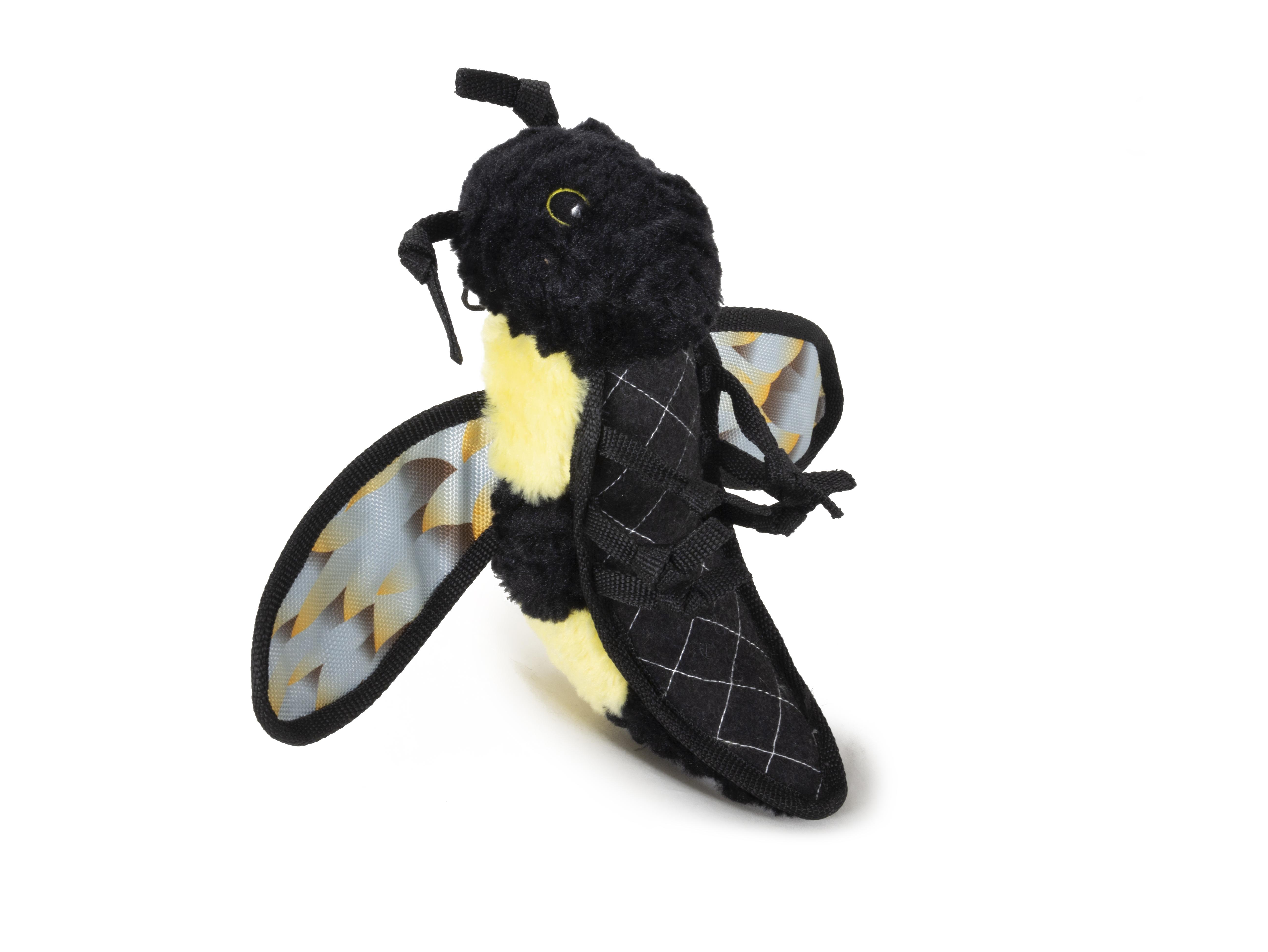 Steel Dog Ruffian Bumblebee Dog Toy