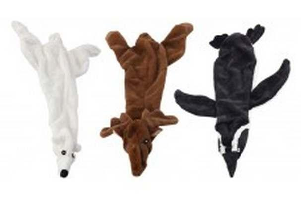 Ethical Pet Spot Plush Skinneeez Arctic Animal Dog Toy, Character Varies, 15-in