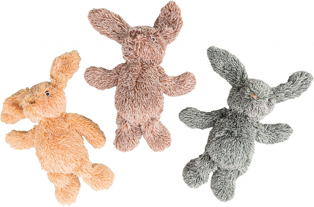 Ethical Pet Spot Cuddle Bunnies Dog Toy, Color Varies, 13-in