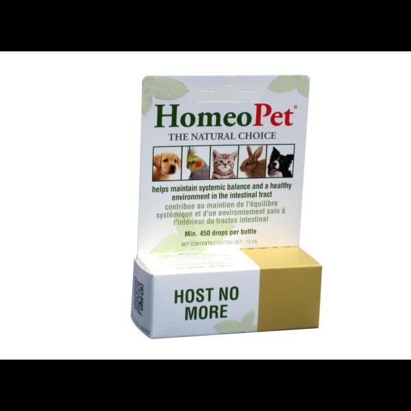 HomeoPet Multi Species Host No More Pet Supplement, 15-mL