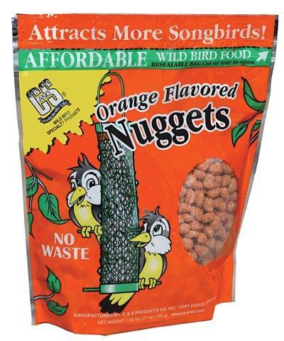 C&S Orange Suet Nuggets Wild Bird Food, 27-oz