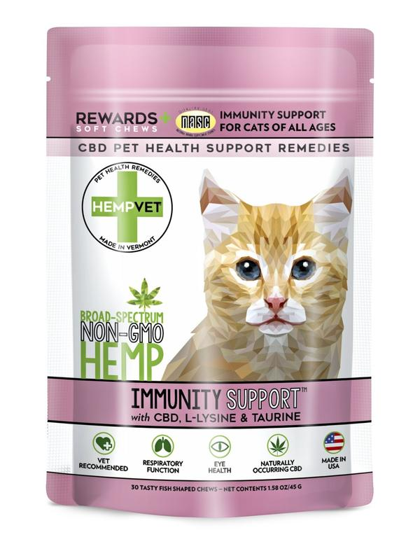 H-Vet Immunity Support for Cats, 30-count