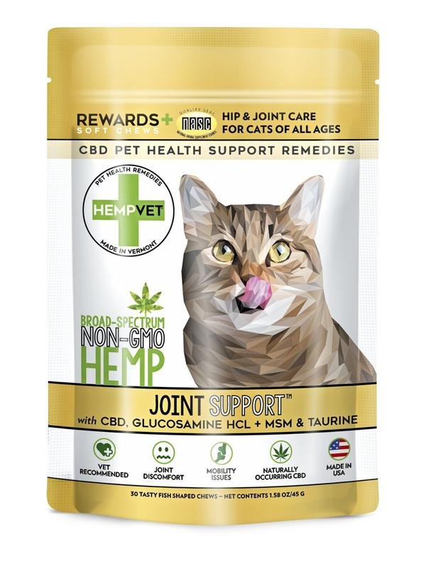 H-Vet Joint Support for Cats, 45-g