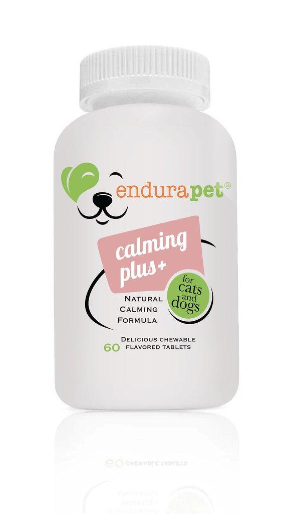 EnduraPet Calming Plus Dog & Cat Supplement, 60-count
