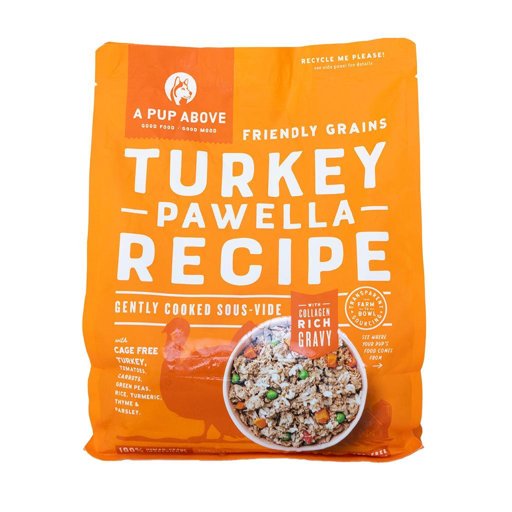 A Pup Above Turkey Pawella Grain-Free Frozen Dog Food, 3-lb