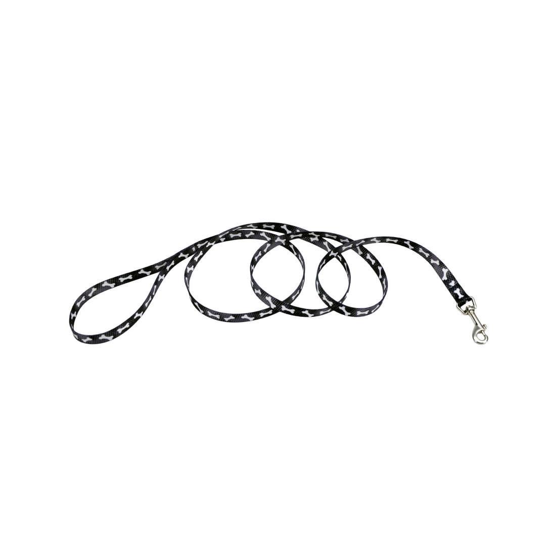 Styles Dog Leash, Black Bones Image