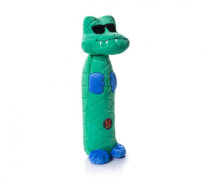 Charming Pet Bottle Bros Gator Dog Toy, 16-in