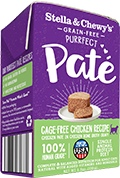Stella & Chewy's Cat Chicken Pate Tetrapak, 5.5-oz, case of 12