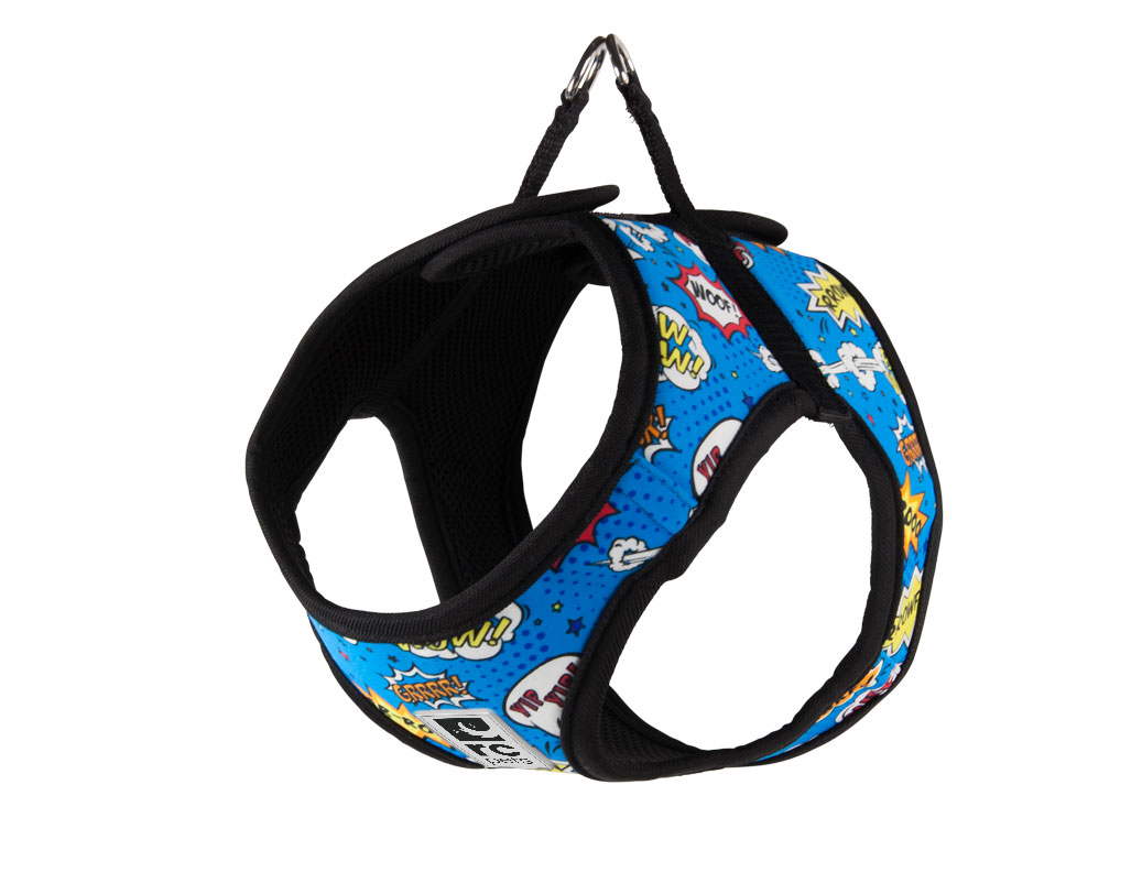 RC Pet ProductsStep-In Cirque Dog Harness, Comic Sounds, Large