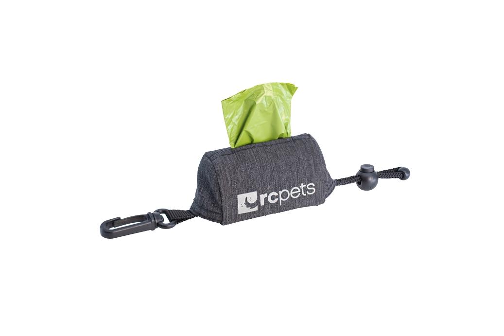 RC Pet Products P.U.P Dog Poop Bag Dispenser, Heather Black Image