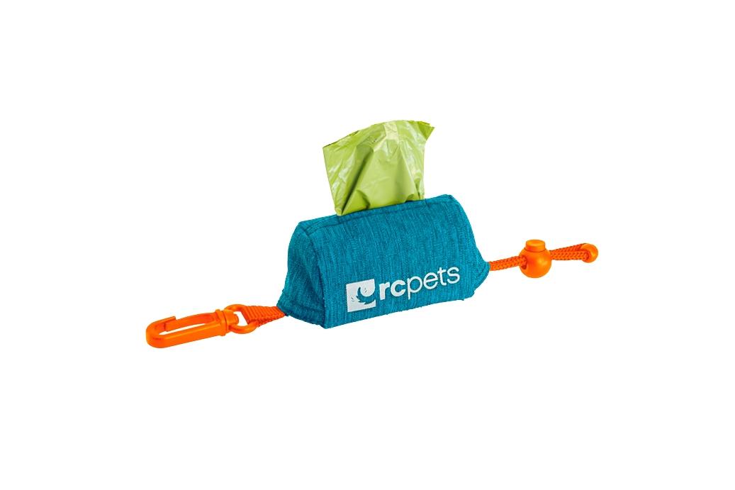 RC Pet Products P.U.P Dog Poop Bag Dispenser, Heather Teal Image