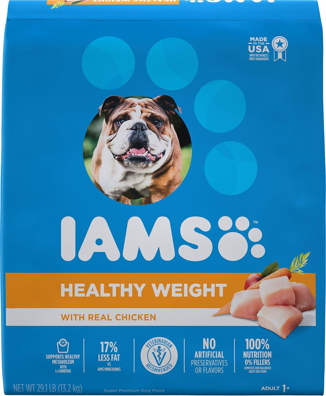 Iams ProActive Healthy Weight Dry Dog Food, 29.1-lb