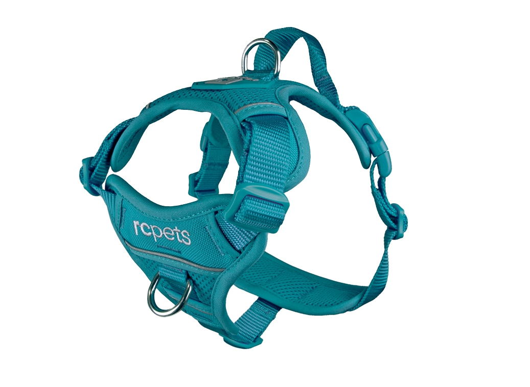 RC Pet Products Momentum Control Dog Harness, Dark Teal, Large