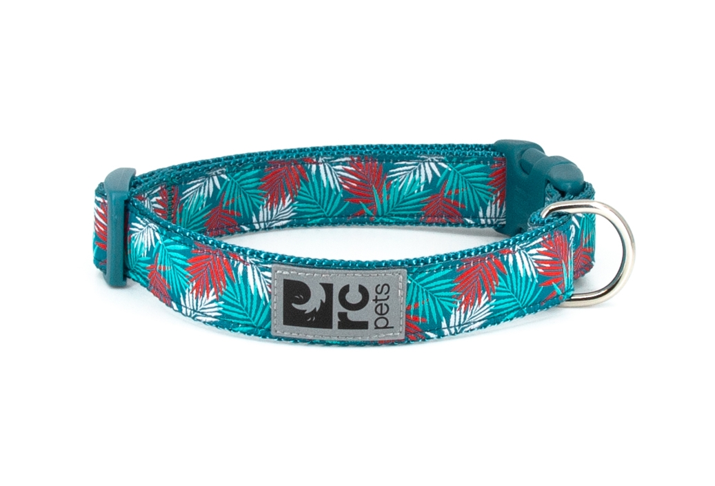 RC Pet Products Clip Dog Collar, Maldives, Small