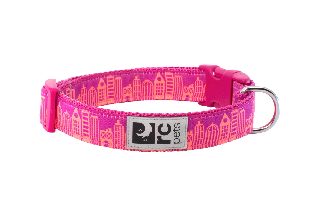 RC Pet Products Clip Dog Collar, Urban, X-Small