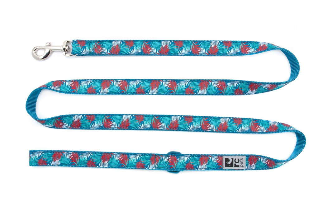 RC Pet Products Dog Leash, Maldives, 0.75-in x 6-ft