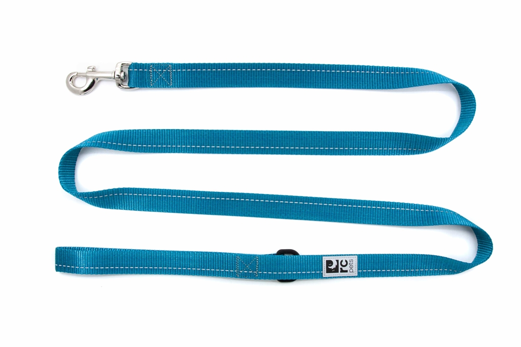 RC Pet Products Primary Dog Leash, Dark Teal, 0.5-in x 6-ft