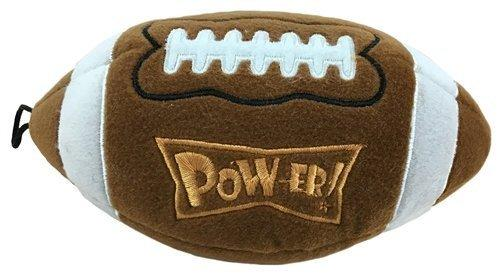 Lulubelles Power Plush Pigskin Dog Toy, Large