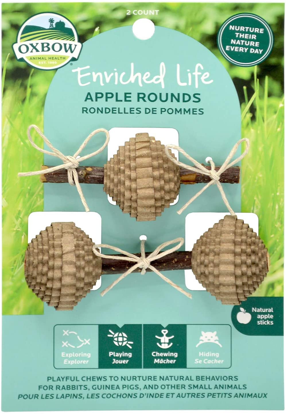 Oxbow Enriched Life Apple Rounds Image
