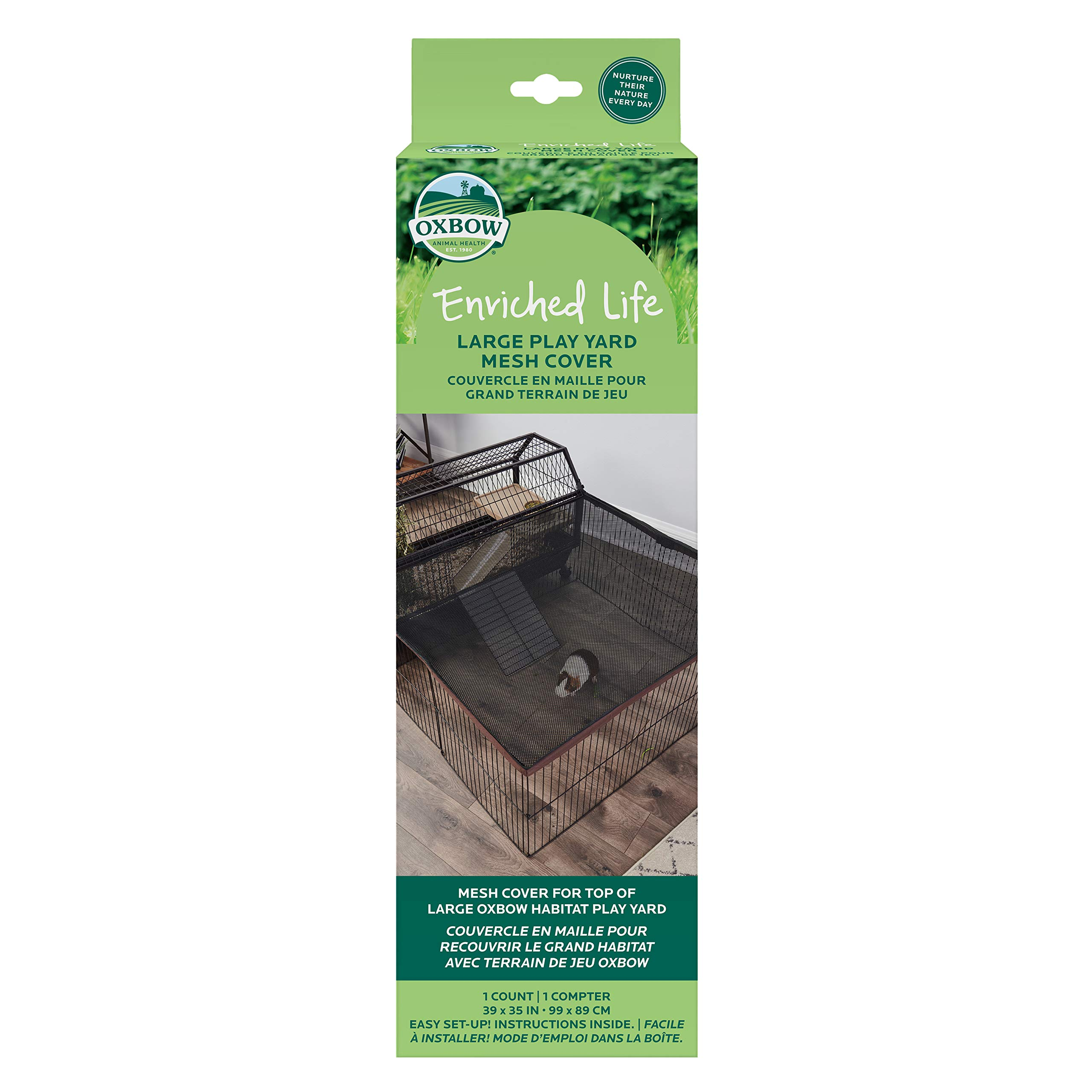 Oxbow Large Play Yard Mesh Cover