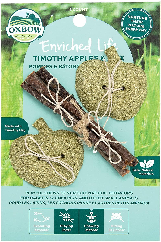 Oxbow Timothy Apples & Stix Image