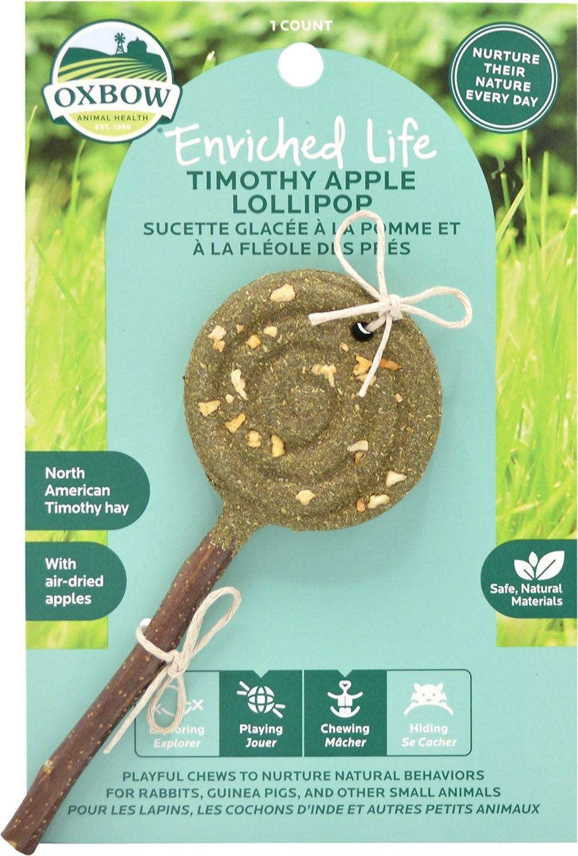 Oxbow Timothy Lollipop Apple Image