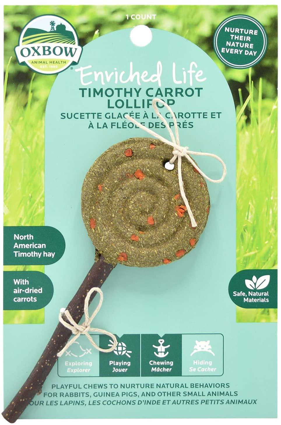 Oxbow Timothy Lollipop Carrot