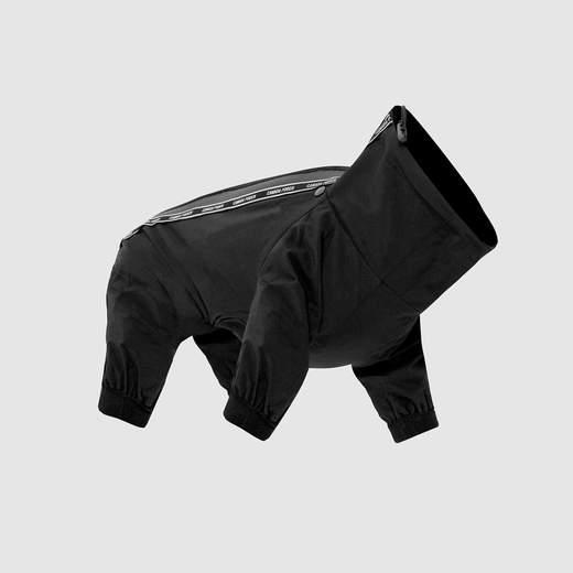 Canada Pooch The Slush Suit Dog Onsie, Black, 16-in