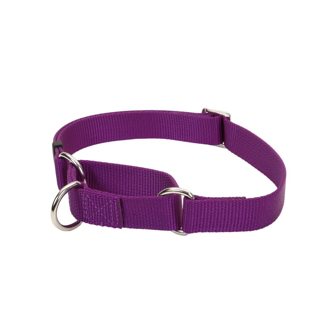 No Slip Martingale Adjustable Dog Collar, Purple Image