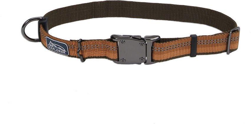 K9 Explorer Reflective Dog Collar, Orange Image