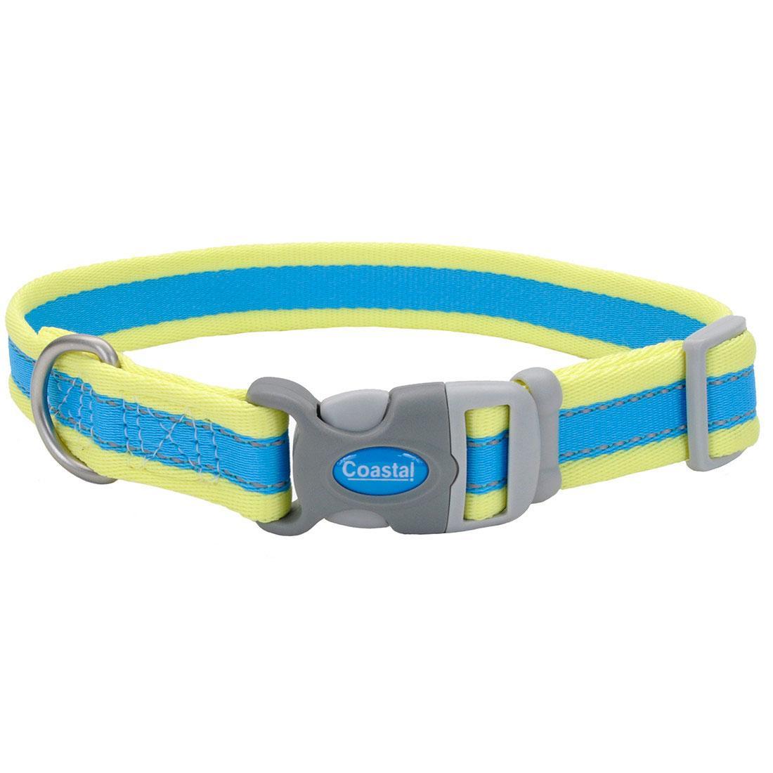 Coastal Pro Reflective Adjustable Dog Collar, 1-in x 18-26-in