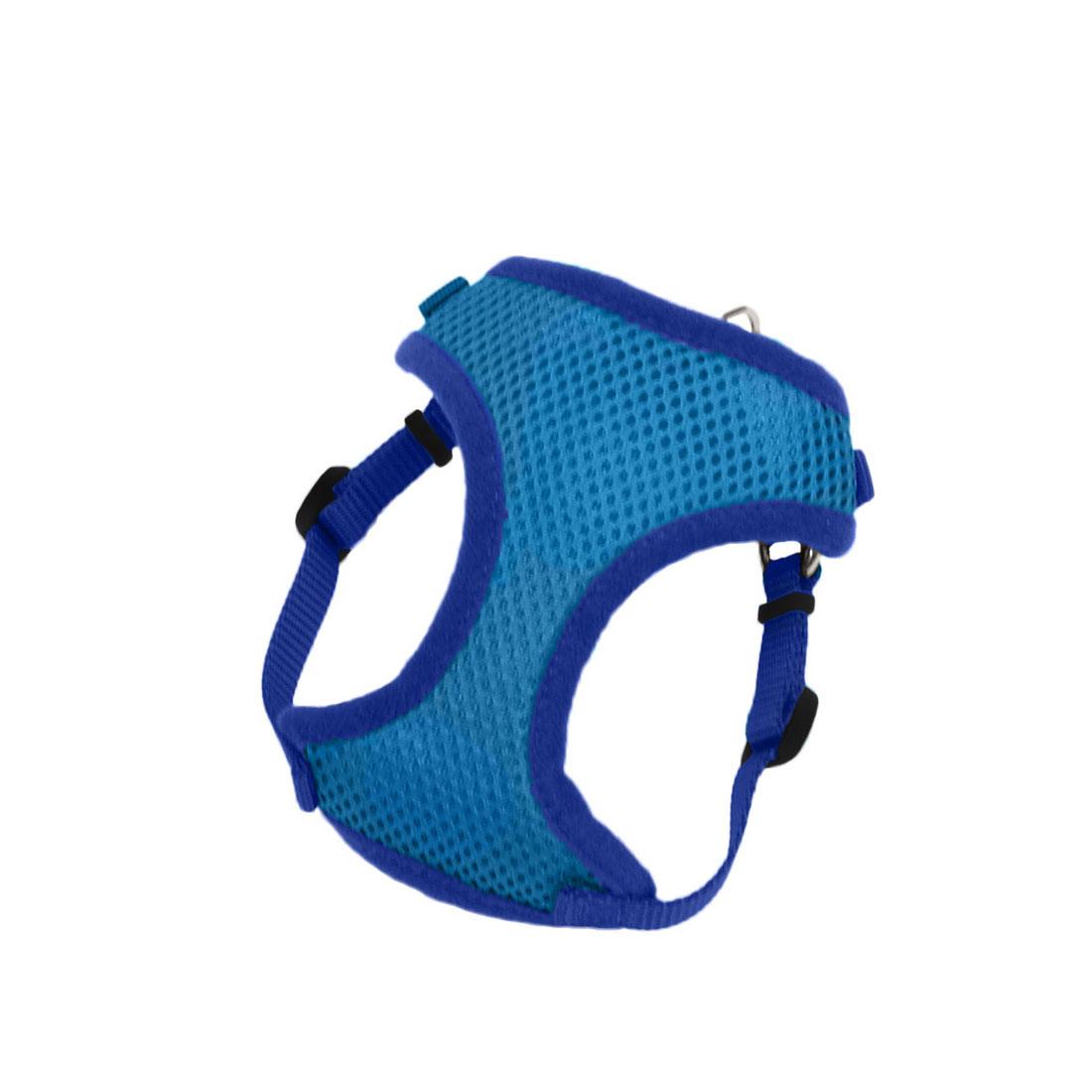 Coastal Comfort Soft Wrap Adjustable Dog Harness, Blue Image