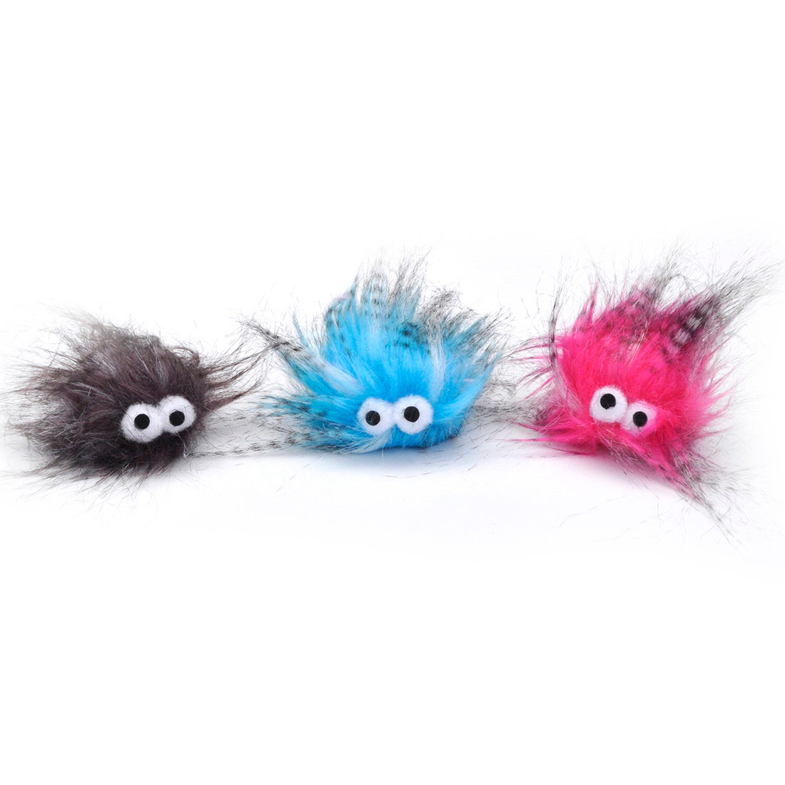 Turbo Plush Monsters Cat Toy, Assorted Colors